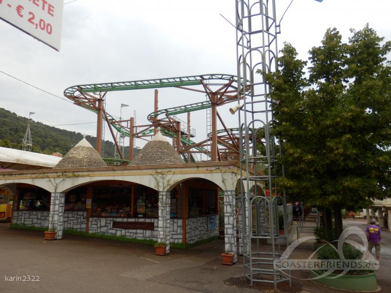 Spinning Madness im Park Zoosafari Fasanolandia Impressionen