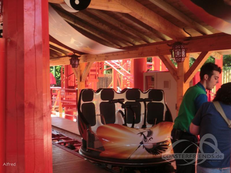 Kung Fu Panda Master im Park Gardaland Impressionen