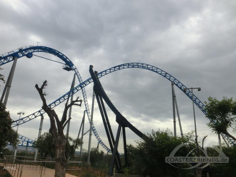 Storm im Park Etnaland Impressionen