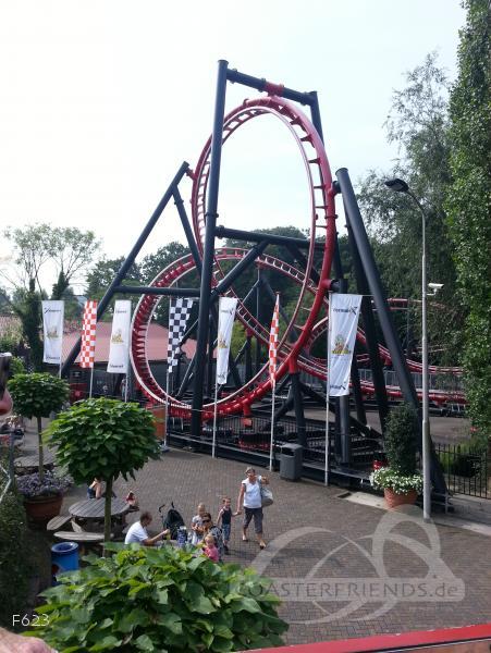 Formule X im Park Drievliet Family Park Impressionen