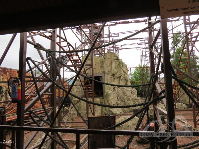 Kopermijn im Park Drievliet Family Park Impressionen