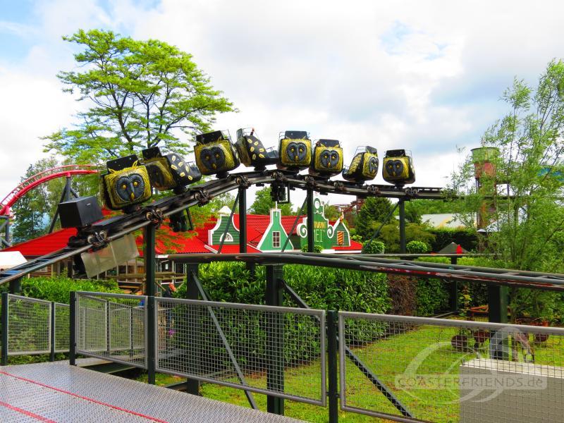 Twistrix im Park Drievliet Family Park Impressionen