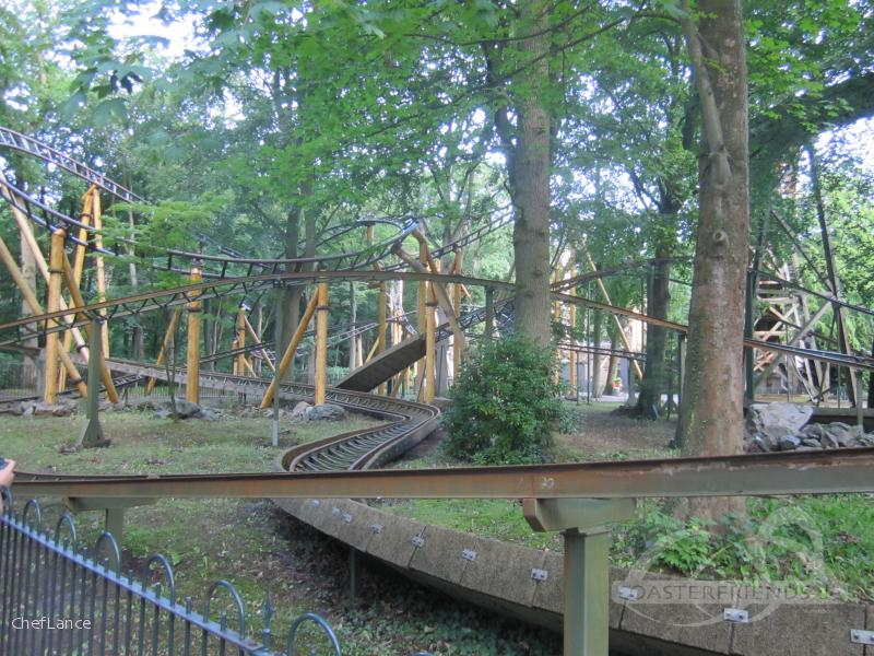 Kikkerachtbaan im Park Duinrell Impressionen