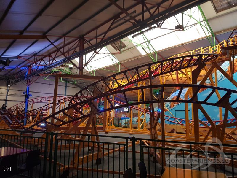 Achtbaan im Park Kinderstad Heerlen Impressionen