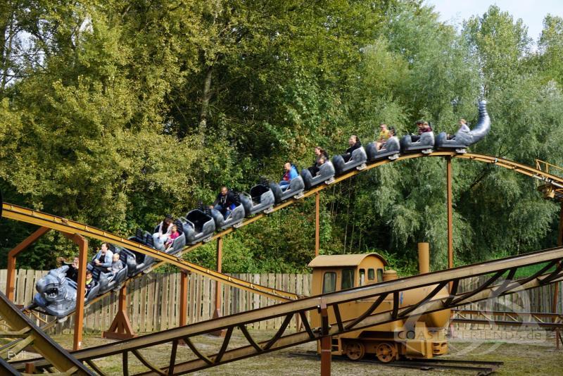 Drako im Park Walibi Holland Impressionen
