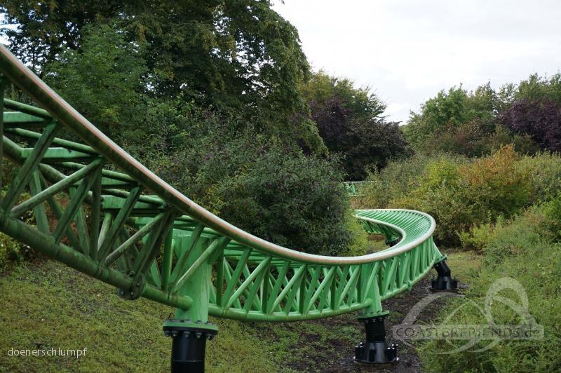 Goliath im Park Walibi Holland Impressionen