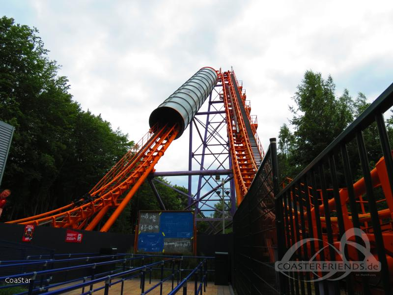 Speed of Sound (La Via Volta) im Park Walibi Holland Impressionen