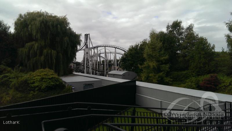 Xpress: Platform 13 im Park Walibi Holland Impressionen