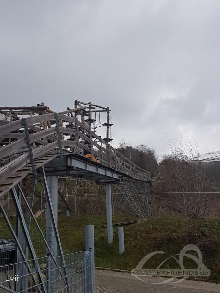 Alpine Coaster im Park SnowWorld Landgraaf Impressionen