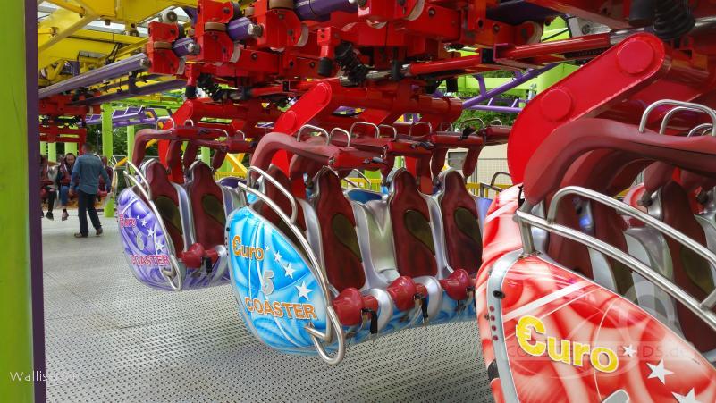 Euro Coaster (aka Christmas Coaster) im Park Buwalda Familie Impressionen