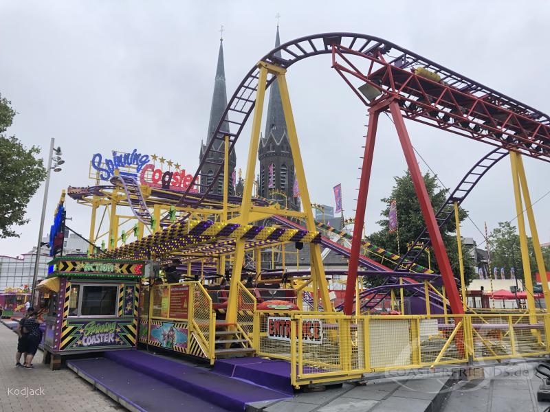 Spinning Coaster im Park Buwalda Familie Impressionen