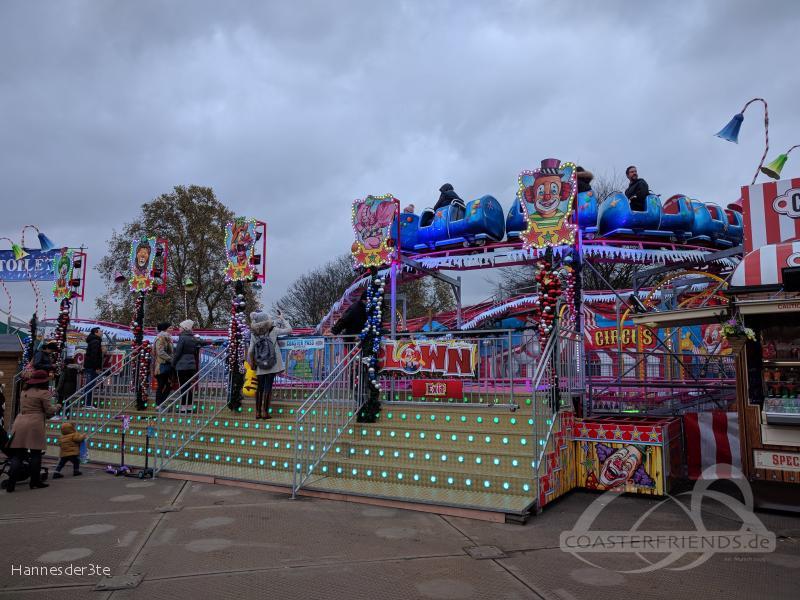 Crazy Clown im Park Buwalda Familie Impressionen