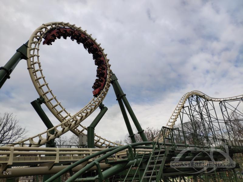 Python 2.0 im Park Efteling Impressionen
