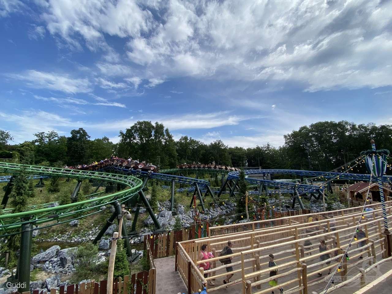 Max & Moritz (Track Max - blue) im Park Efteling Impressionen