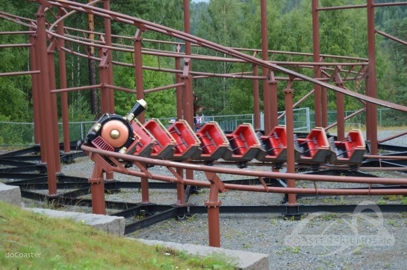Western-Expressen im Park TusenFryd Impressionen