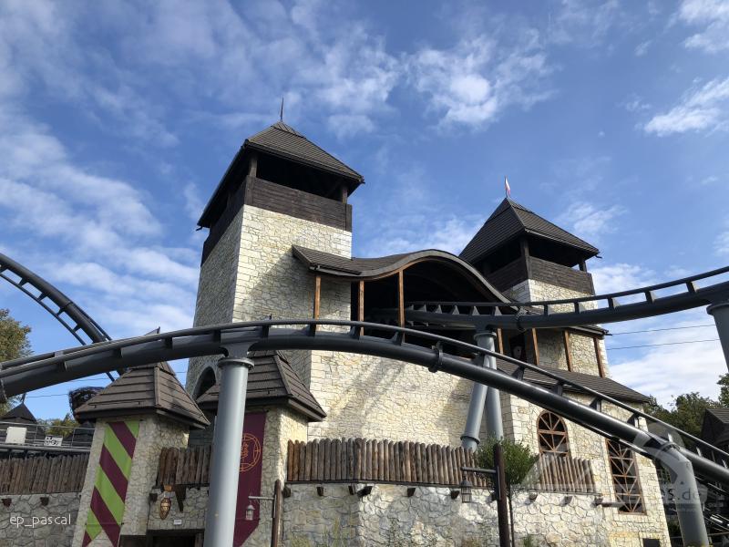 Lech Coaster im Park Legendia (Śląskie Wesołe Miasteczko) Impressionen