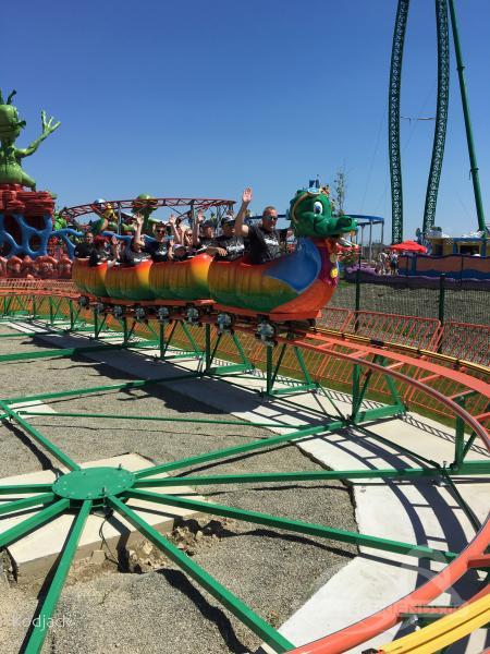 Circus Coaster im Park Energylandia Impressionen