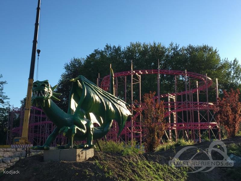 Dream Hunters Society (Cyklon) im Park Legendia (Śląskie Wesołe Miasteczko) Impressionen