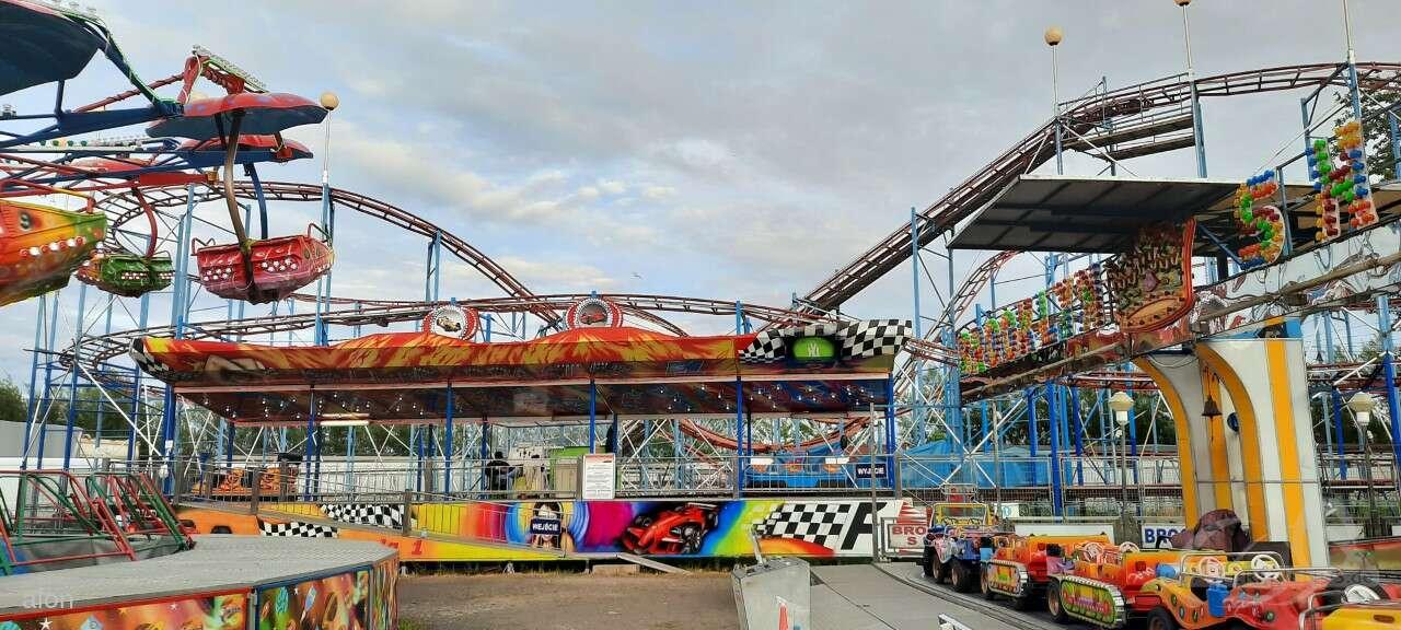 Roller Coaster Formule 1 im Park Wesole Miasteczko Family Park Impressionen
