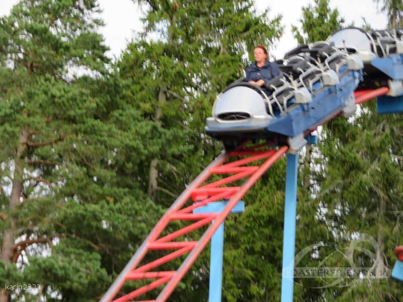 Rocket im Park Furuvik Impressionen