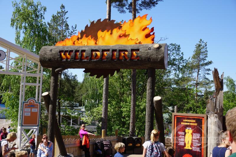 Wildfire im Park Kolmården Impressionen