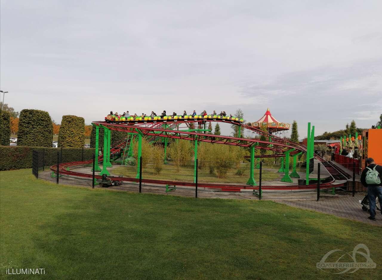 Cirkusexpressen im Park Liseberg Impressionen