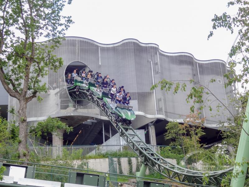 Helix im Park Liseberg Impressionen