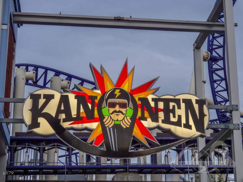 Kanonen im Park Liseberg Impressionen