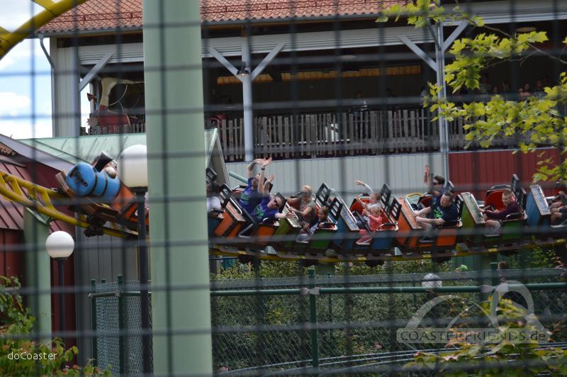Rabalder im Park Liseberg Impressionen