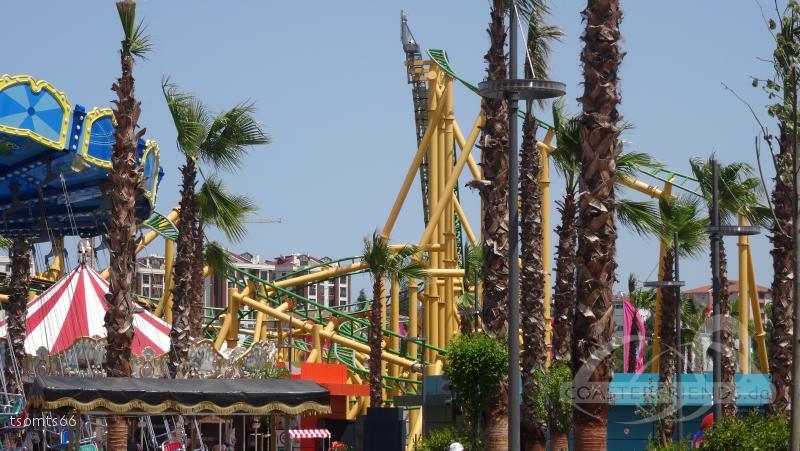 Family Coaster im Park ViaSea Impressionen