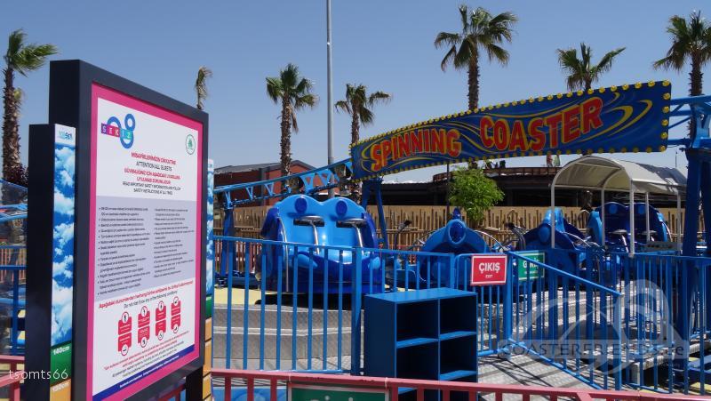 Spinning Coaster im Park ViaSea Impressionen