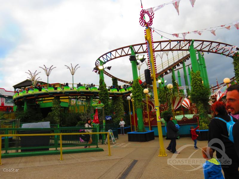 Green Scream im Park Adventure Island Impressionen