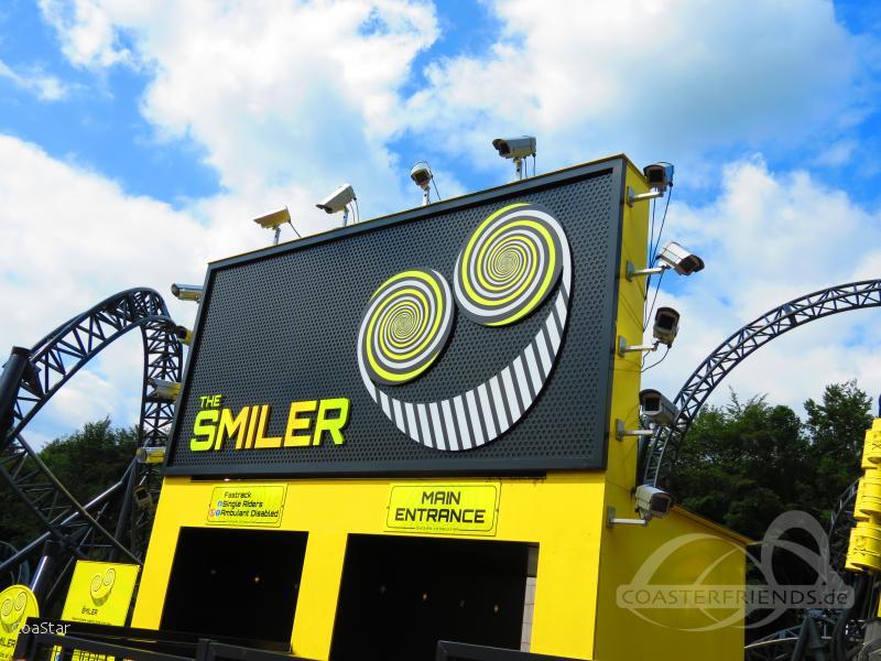 Smiler im Park Alton Towers Impressionen