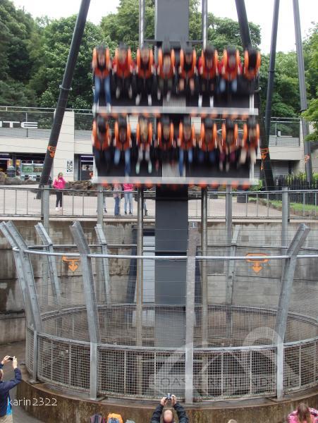 Oblivion im Park Alton Towers Impressionen