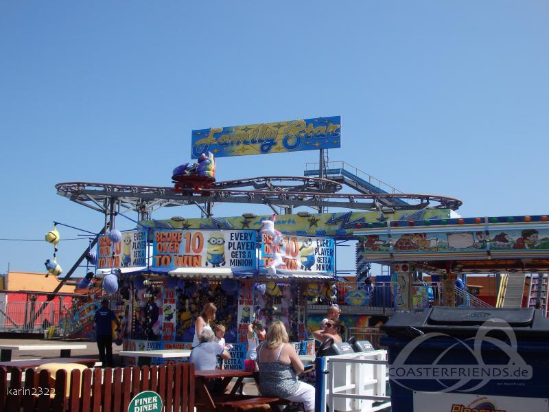 Family Star im Park Great Yarmouth Pleasure Beach Impressionen