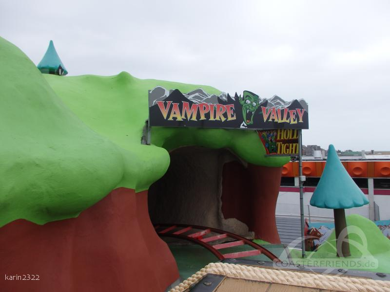 Spook Express im Park Joyland Amusement Park Impressionen