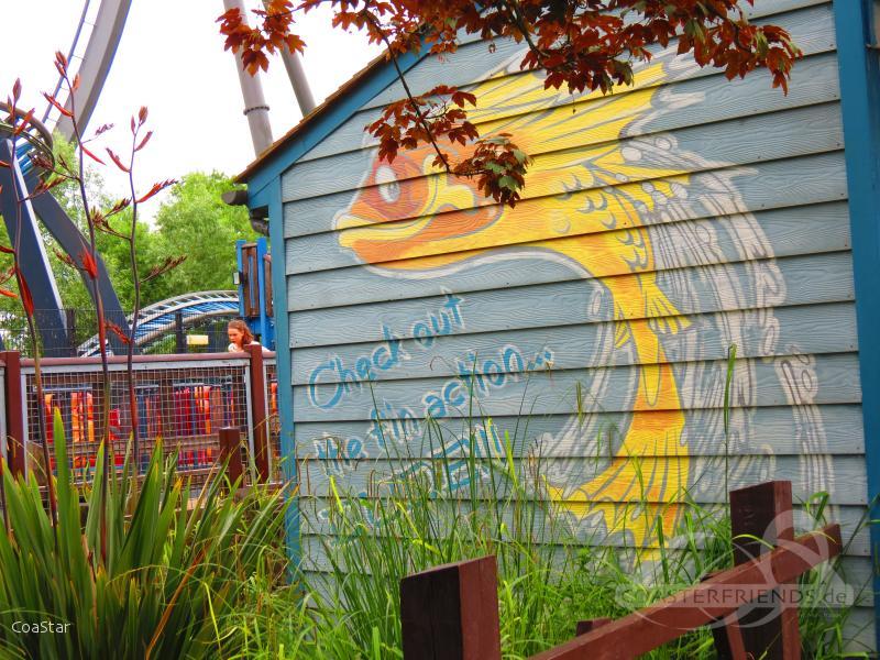 Flying Fish im Park Thorpe Park Impressionen