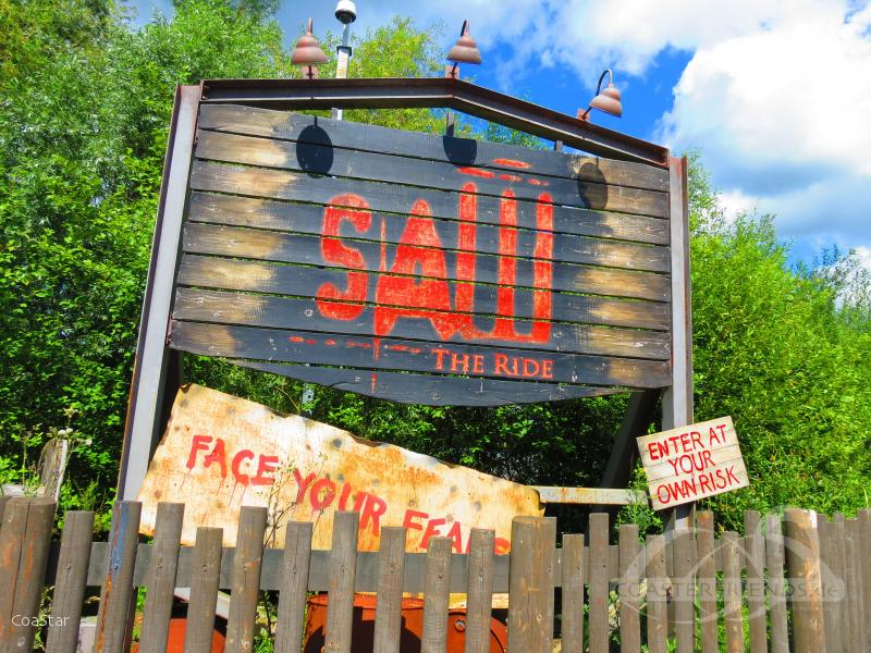 Saw - The Ride im Park Thorpe Park Impressionen