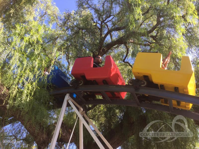 Freeway Coaster im Park Adventure City Impressionen