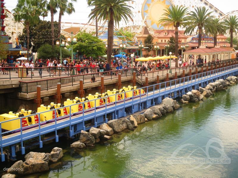 California Screamin' im Park Disney California Adventure Park Impressionen