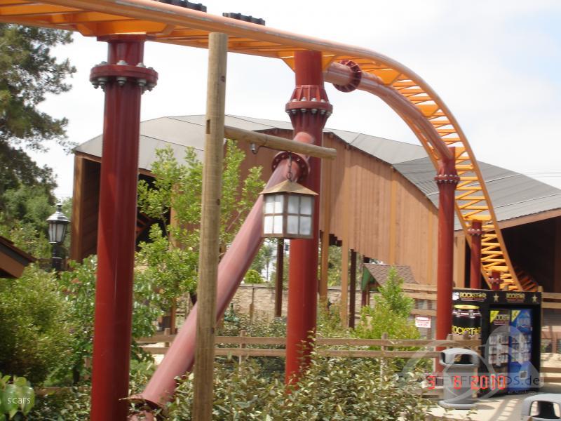 Pony Express im Park Knott's Berry Farm Impressionen