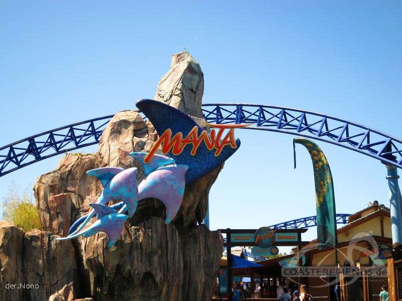 Manta im Park SeaWorld San Diego Impressionen