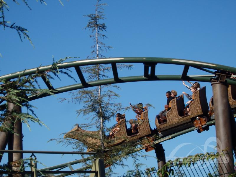 Flight of the Hippogriff im Park Universal Studios Hollywood Impressionen