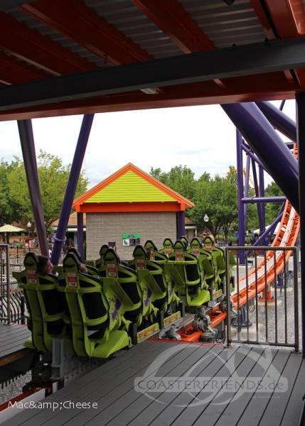 Phobia Phear Coaster im Park Lake Compounce Impressionen