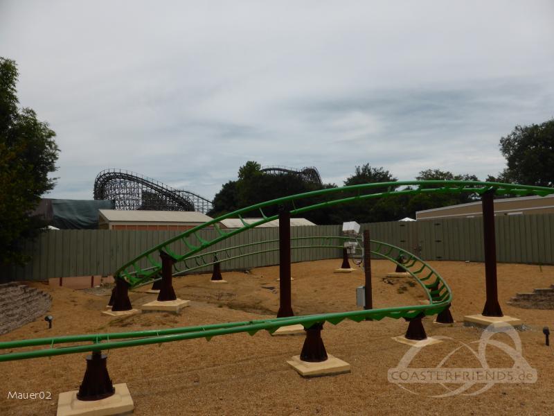 Air Grover im Park Busch Gardens Tampa Impressionen