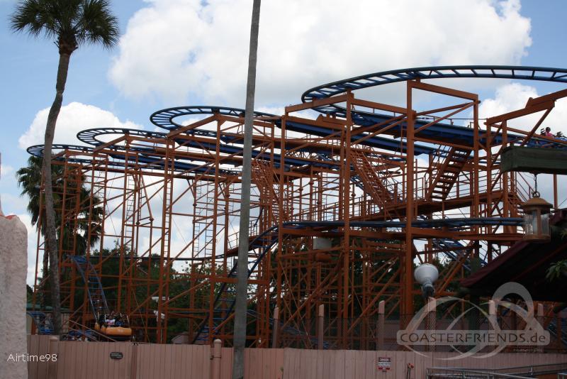 Sand Serpent im Park Busch Gardens Tampa Impressionen