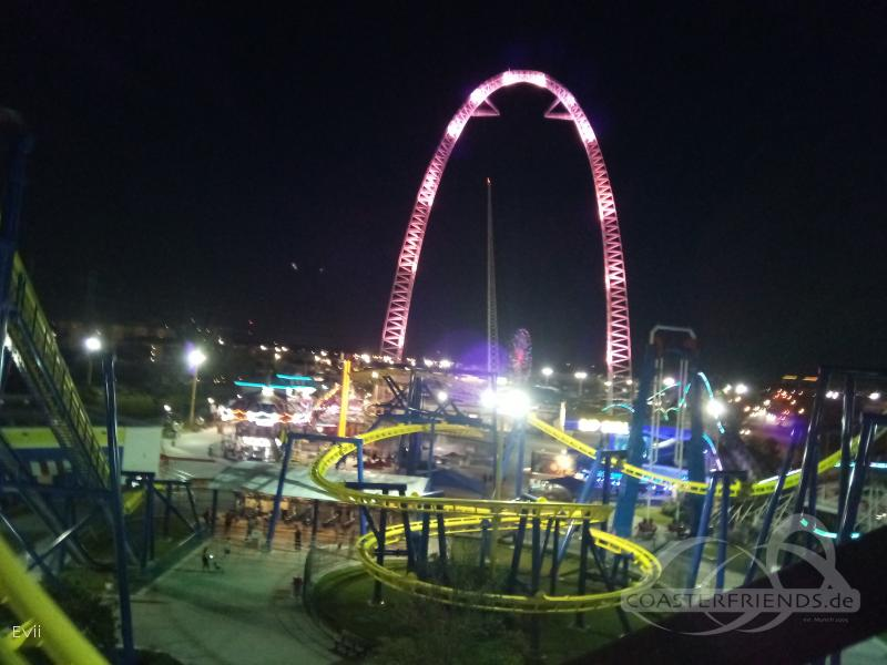 Freedom Flyer im Park Fun Spot America (Orlando) Impressionen