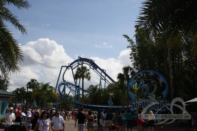 Manta im Park SeaWorld Orlando Impressionen