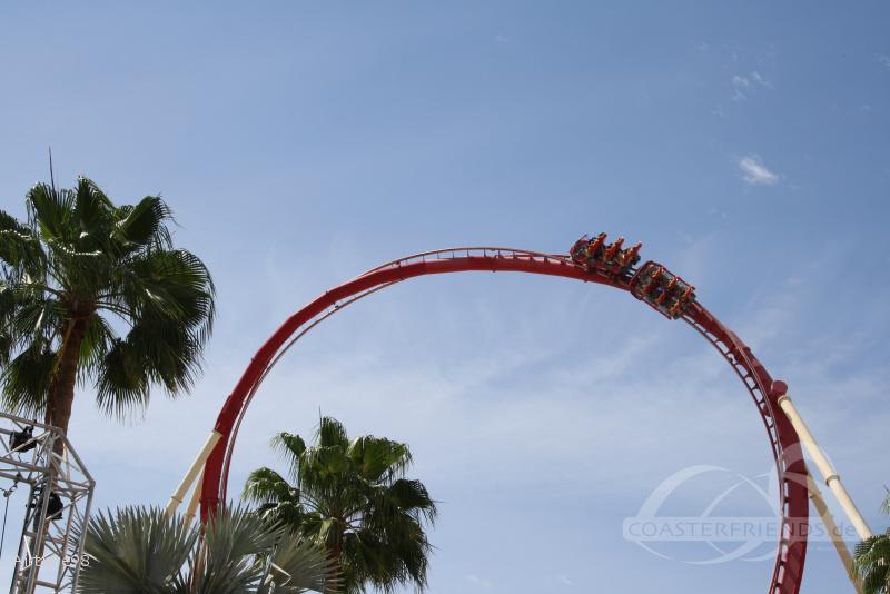 Hollywood Rip Ride Rockit im Park Universal Studios Florida Impressionen