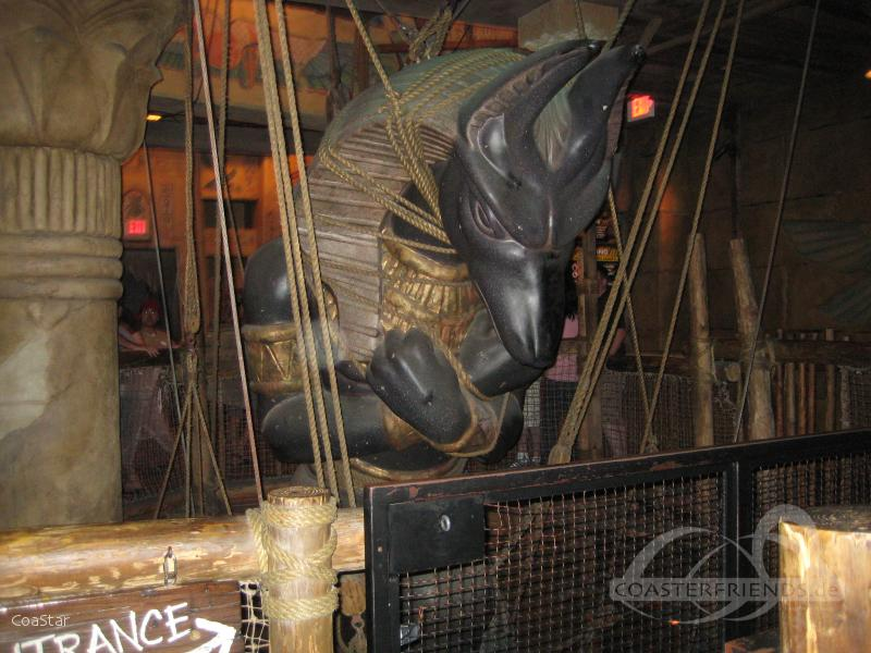 Revenge of the Mummy im Park Universal Studios Florida Impressionen